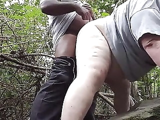 Interracial Bears in The Woods- jackebr amateur (gay) bear (gay) fat (gay)