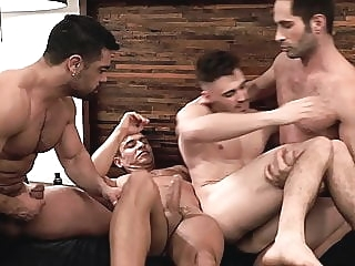 Newcomer Ashton Hawk fucked by 3 Stallions 24:56 2020-02-08