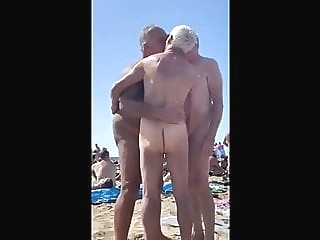 Gay Beach Grandpa amateur (gay) bear (gay) daddy (gay)