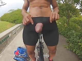 Str8 big cock for small hole in bike man (gay) amateur (gay) big cock (gay)