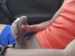 Boy's Wank in Man's Car gay porn (gay) amateur (gay) big cock (gay)