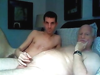 grandpa and young boy have fun on cam 1:24:12 2016-07-20