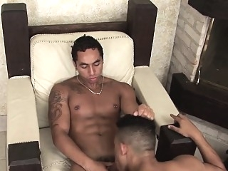Buff latin amateur rims bareback (gay) blowjob (gay) gays (gay)