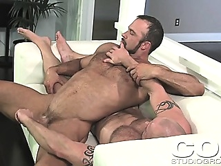 Sexy Muscled Man Gets A Dick Massage From His Hot Boyfriend gays (gay) handjob (gay) masturbation (gay)
