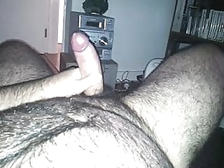 Hairy bear wank and cum man (gay) bear (gay) big cock (gay)