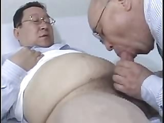 japanese old man-1 asian (gay) daddy (gay) fat (gay)