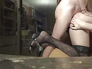 French Arab Trav Crossdresser Anal Sissy and Daddy 1:33 2017-04-18