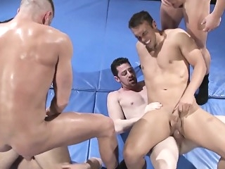 Uniform hunks sucking before cumshots blowjob (gay) gays (gay) group sex (gay)