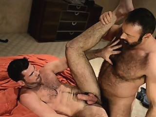 Manly hairy buds Brad and Billy rub and grind their fur 2:06 2015-07-31