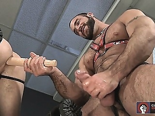 Spencer Reed shoves a dildo and his cock up Troy Daniels ass amateur (gay) gays (gay) men (gay)