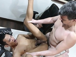 Tight asian twink analfucking office daddy asslick (gay) daddies (gay) gays (gay)