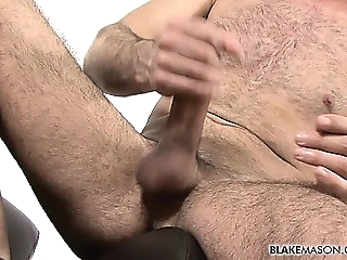 Sexy and hairy Bulgarian hunk Sam jerks the cum from his gays (gay) masturbation (gay) men (gay)