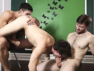 Men.com - Dennis West, Diego Sans, Will Braun 1:00 2017-11-17