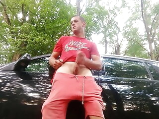 polish scally lad wanking in the forest 1:29 2020-12-27