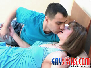 GaySissies Scene: Bobbie A and Hugo gay bdsm gay crossdressing gay fetish