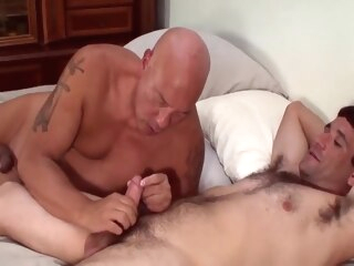 mature threesome gay bareback gay blowjob gay group sex
